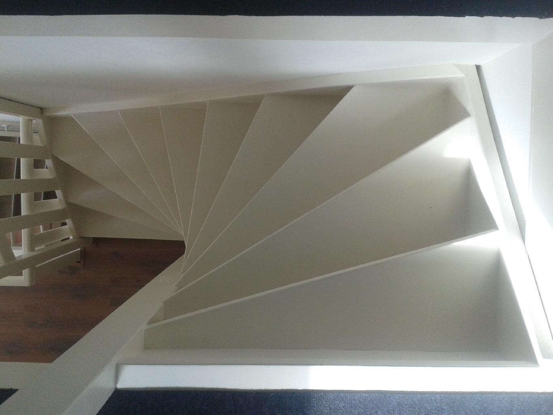 Een op maat gemaakte trap van BVA trappen